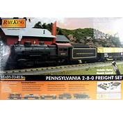MTH Rail King O 30 4226 1 Pennsylvania 2 8 0 Steam Freight R T Train