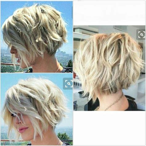 a long bob with wavy texture for fine hair lob with waves short layered bob hairstyles 2017 when com image
