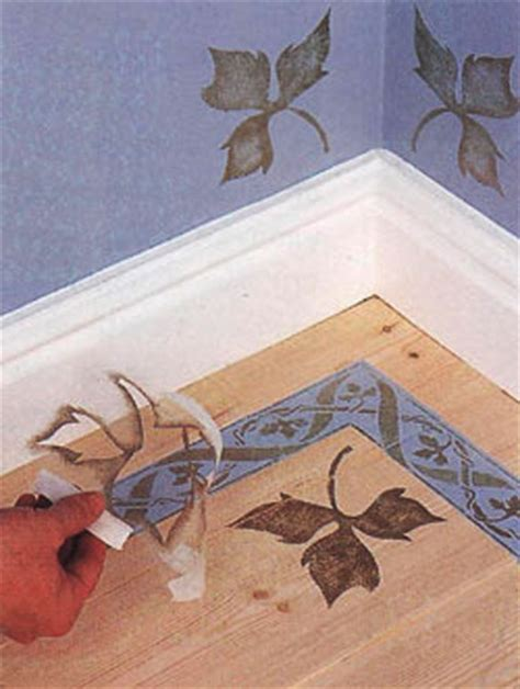 Decorative Floor Painting Ideas Wooden Furniture Decoration With Stencils 15 Furniture Painting Ideas