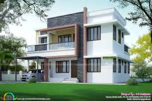 simple home design kerala simple home plan in modern style kerala home design and