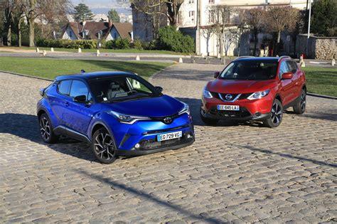 Essai Comparatif Toyota C Hr Vs Nissan Qashqai Chacun Sa