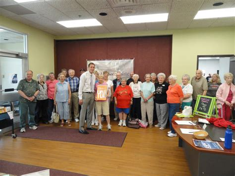senior activities center recognizes shorepointe nursing