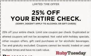 The Apple Barn Menu Ruby Tuesday Printable Coupon July 2015 2017 2018 Best