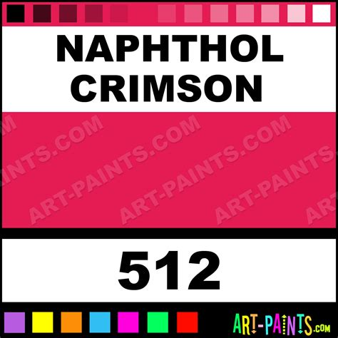 naphthol crimson cryla acrylic paints 512 naphthol crimson paint naphthol crimson color