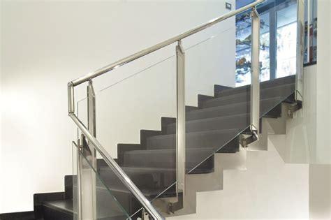 glass landing banister stainless steel glass stair landing balustrade stairs etc