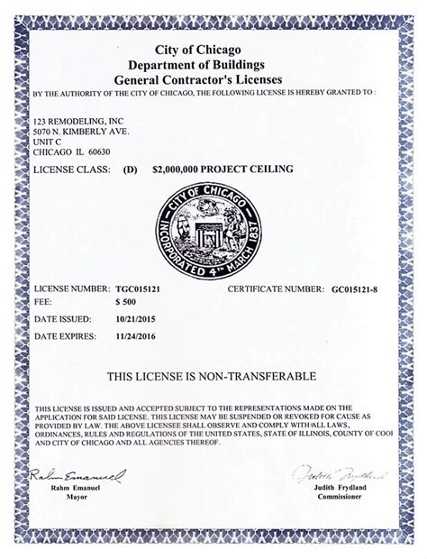 Plumbing Contractors Licence by Construction Documents Licenses Insurance 123 Remodeling