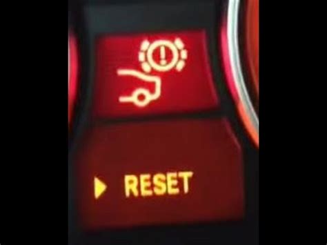 how do you reset the abs light e46 325i bmw brake light reset with or without sensor