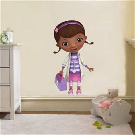 Doc Mcstuffins Wall Decor by Doc Mcstuffins Disney Decal Removable Wall Sticker Home Decor Bedroom
