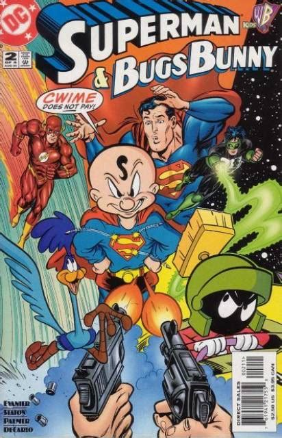 dc meets looney tunes superman bugs bunny 1 the dc heroes meet the