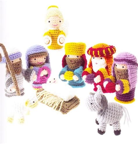 amigurumi nativity pattern 17 best images about christmas crocheting on pinterest