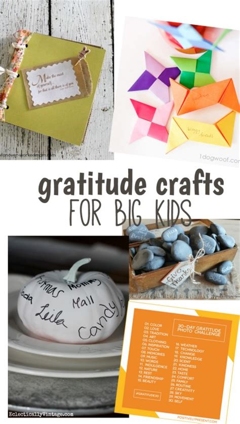 Christmas Dinner Table Centerpieces - 10 creative gratitude crafts for big and little kids make and takes