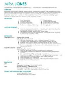 Solicitor Cv Template Legal Cv Examples Livecareer
