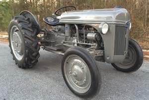 Ford 2n Restored 1944 Ford 2n Tractor Bring A Trailer