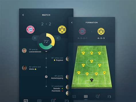 best app for soccer 16 best sports a pp images on app design
