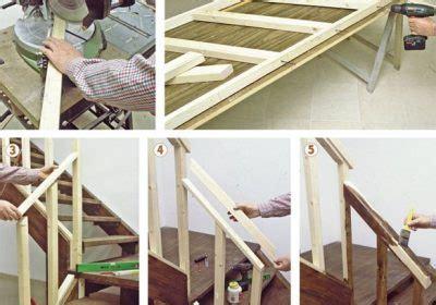 ringhiera fai da te come costruire una ringhiera in legno con il fai da te