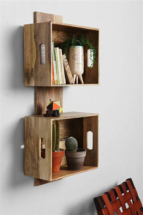 Holzkisten Wand by 39 Upcycling Dekoideen Mit Gebrauchten Gegenst 228 Nden