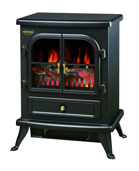 Fireplace Heater Electric by New 1850w Log Burning Effect Stove Electric Place Heater Fireplace Ebay