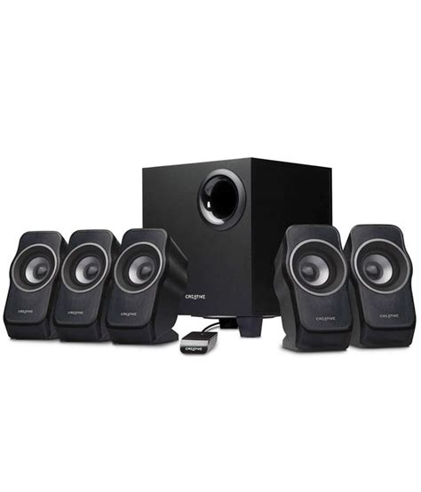 Creative Speaker 5 1 buy creative sbs a520 5 1 speaker system at best