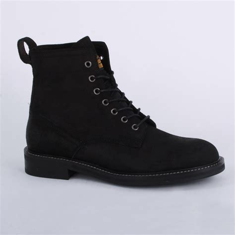 g trent joiner mens laced suede ankle boots shoes
