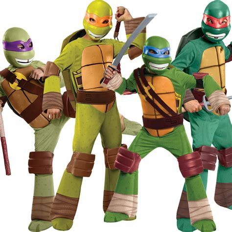Dress Turtle Kid deluxe child tmnt fancy dress costume mask mutant turtles ebay