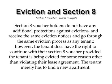 section 8 housing laws section 8 housing rules for tenants 28 images ppt