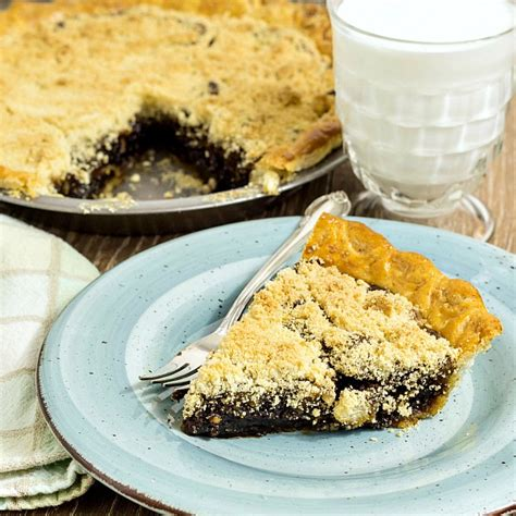 how to make shoo how to make classic shoo fly pie tbtfood