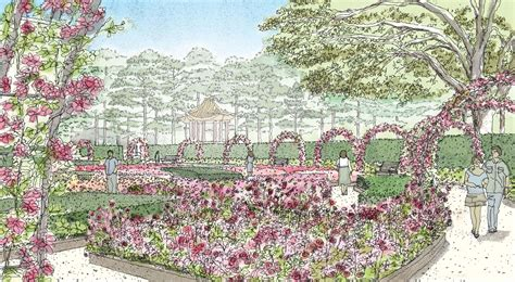 Centennial Gardens by Mcgovern Centennial Gardens Project In Hermann Park Breaks