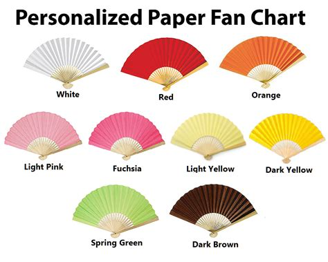 Custom Papers For Shipping by Custom Printed Paper Fans Promotional Fans Free Shipping