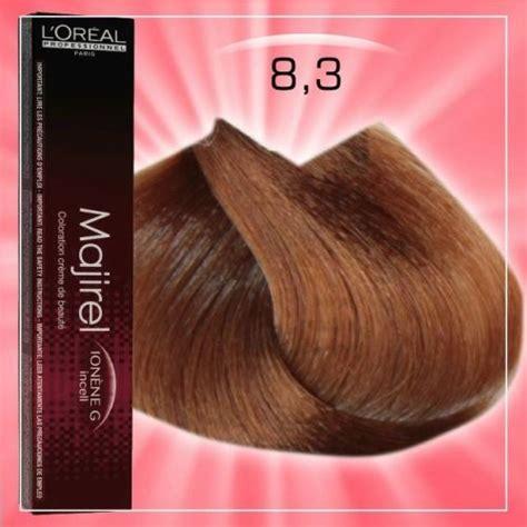 l oreal professional majirel 8 34 8gc permanent hair color 50ml hair and supplier majirel hajfest 233 k 50ml 8 3 light brown hair color light brown hair colors light