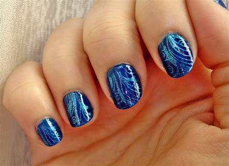 imagenes de uñas pintadas en azul desaf 237 o 31 d 237 as d 237 a 5 u 241 as azules 31 day challenge day