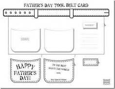 fathers day card template pdf hammer pattern use the printable outline for crafts