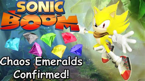 Kaos Gemstone 2 sonic boom chaos emeralds confirmed