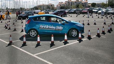 ford driving skills for fordmedia