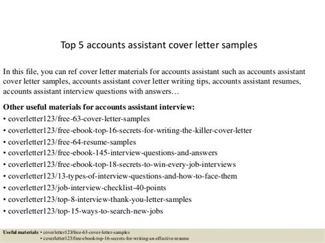 accounts assistant cover letter covering letter for accounts assistant 28 images