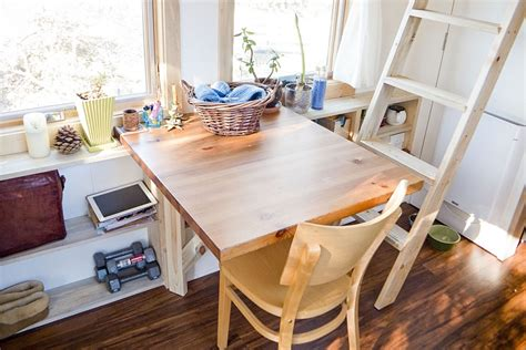 tiny house dining table gorgeous tiny project house woos you with its ingenious design