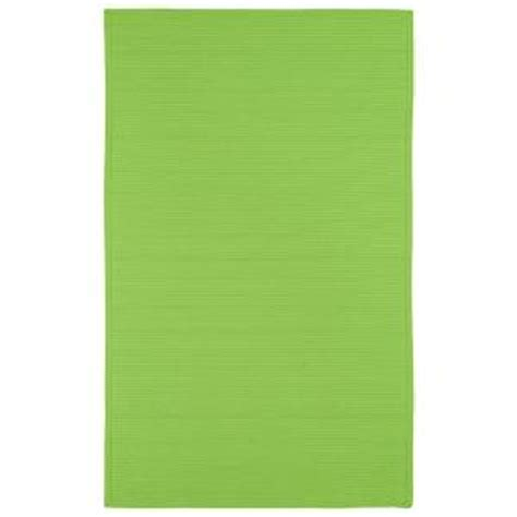 Lime Green Outdoor Rug Kaleen Lime Green 3 Ft X 5 Ft Indoor Outdoor Area Rug 3020 96 3 X 5 The Home Depot