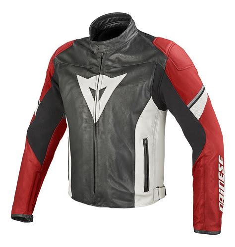 Jaket Dainesee dainese airfast perforated leather jacket revzilla