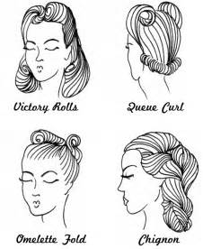 from hair to there get to these 1940 s hairstyles