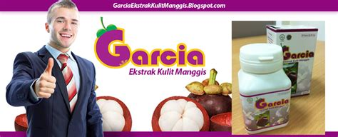 Suplemen Garcia Garcia Ekstrak Kulit Manggis