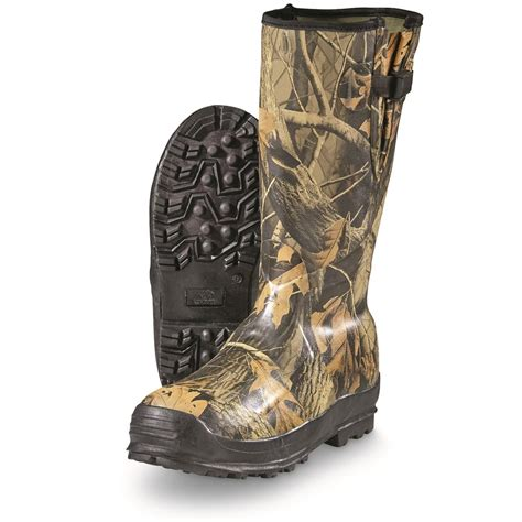 Insulated Rubber Boots by Winchester S 16 Quot Side Zip Insulated Rubber Boots