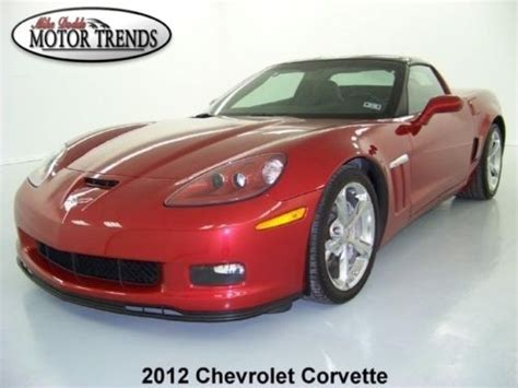 sell used 2012 chevy corvette z51 grand sport navigation