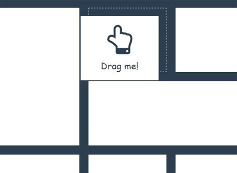 9 jquery drag drop grid layout plugins web graphic responsive fluid drag and drop grid layout with jquery