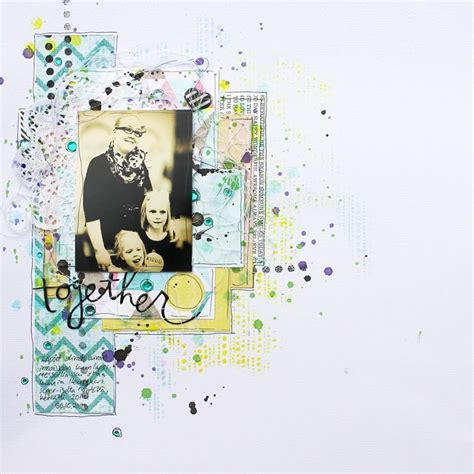 scrapbook layout basics scrapbook layout tutorial with video by terhi a2z