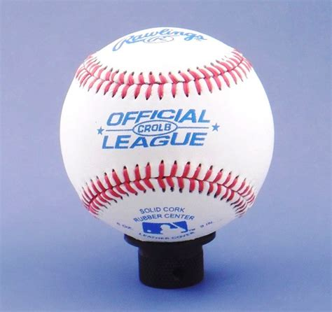 Baseball Shift Knob by All Things Jeep Bambino Leather Baseball Jeep Shift Knob