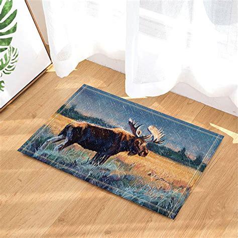 Moose Doormat by Moose Doormats Kritters In The Mailbox Moose Doormat