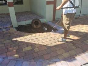 how to seal pavers for a high gloss wetlook