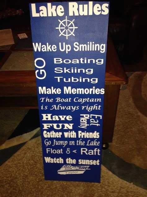 1000 lake quotes on pinterest lake signs lake rules image gallery lake sayings