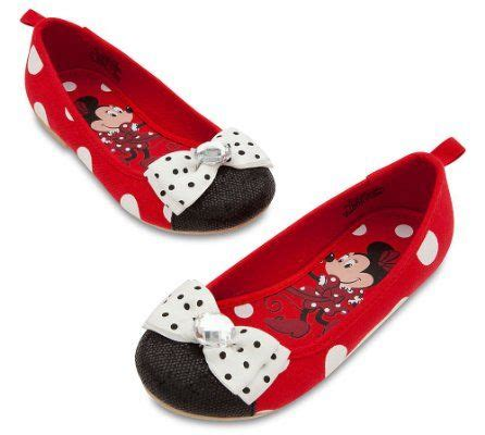 Minnie Flat White by Disney Store Minnie Mouse Flat Costume Shoes Size 8