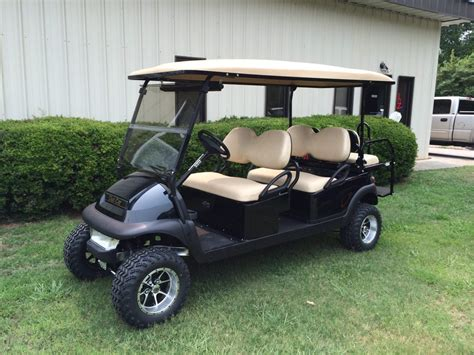black  passenger lifted club car precedent custom