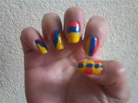 imagenes de uñas decoradas de colombia 2015 dise 241 o de u 241 as 20 de julio colombia youtube
